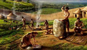 Un poblado de la edad del bronce