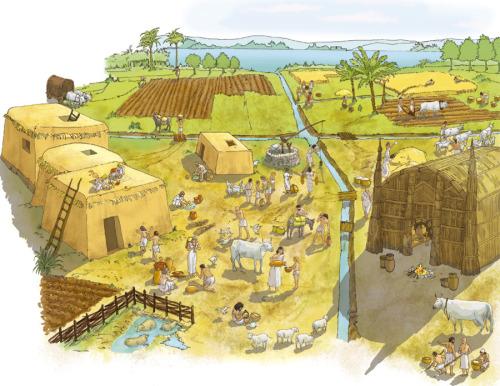 Asentamiento durante el periodo de El Obeid